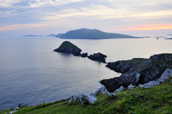 Blasket Sound as seen from Slea Head on the Dingle Peninsula