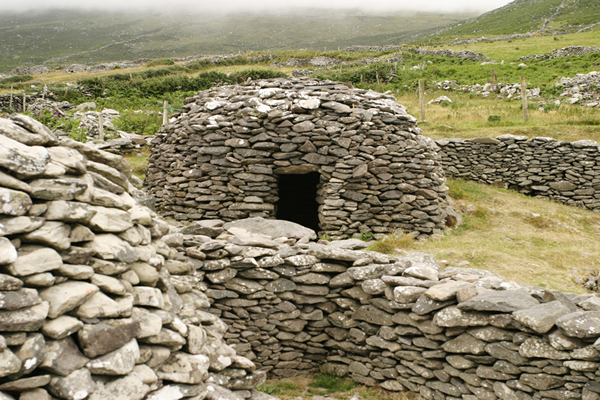 Stone hut dating back to the Middle Ages